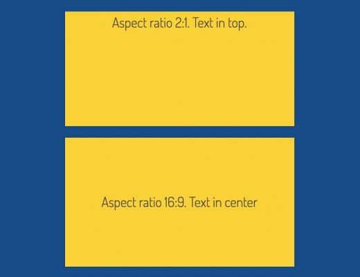 Hướng dẫn xây dựng tỷ lệ khung hình responsive