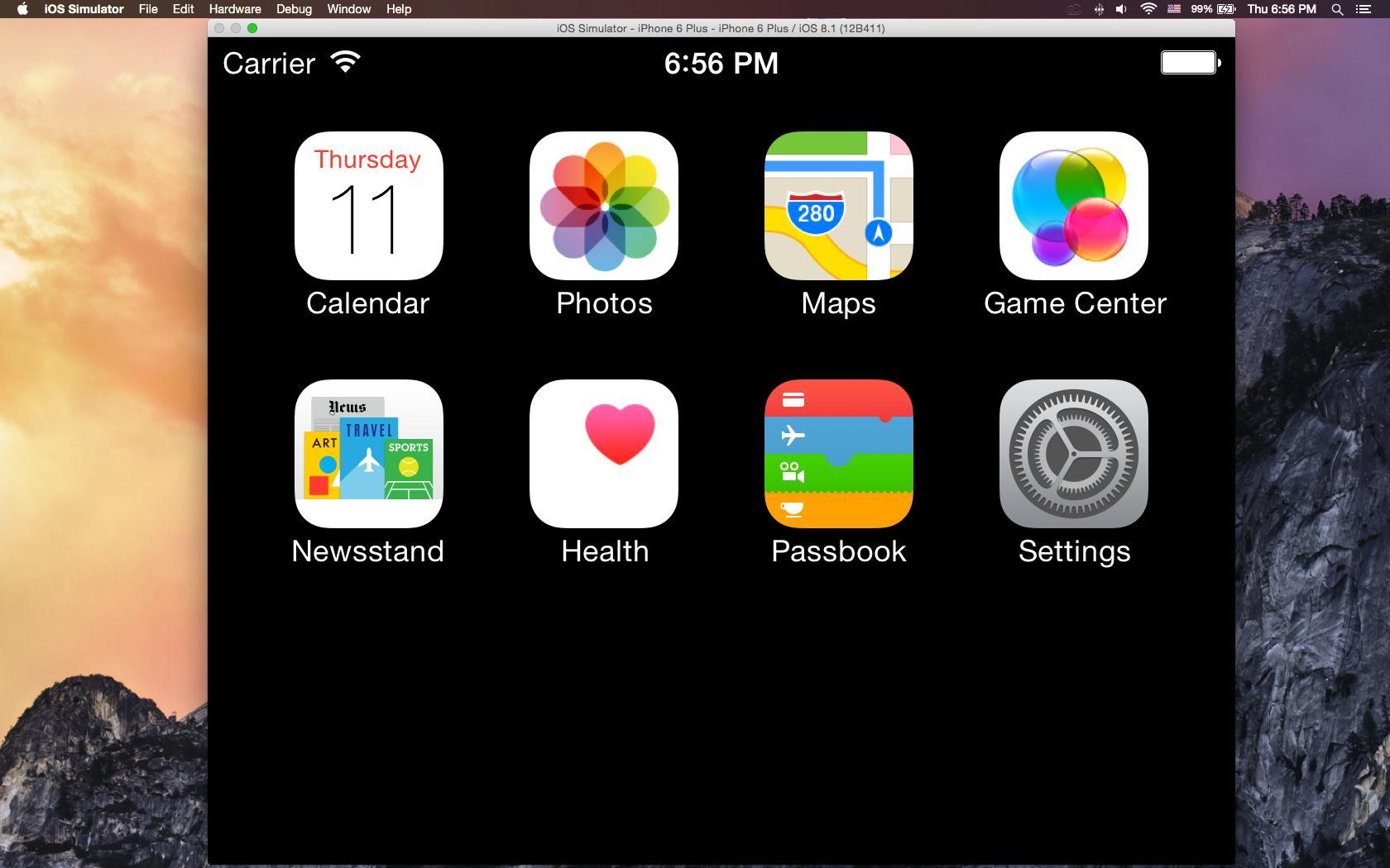 Hướng dẫn debug website trên Simulator iOS của hệ điều hành OSX