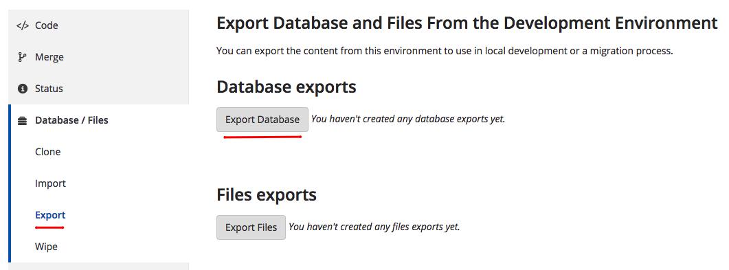 Hướng dẫn sync database WordPress giữa Pantheon và localhost