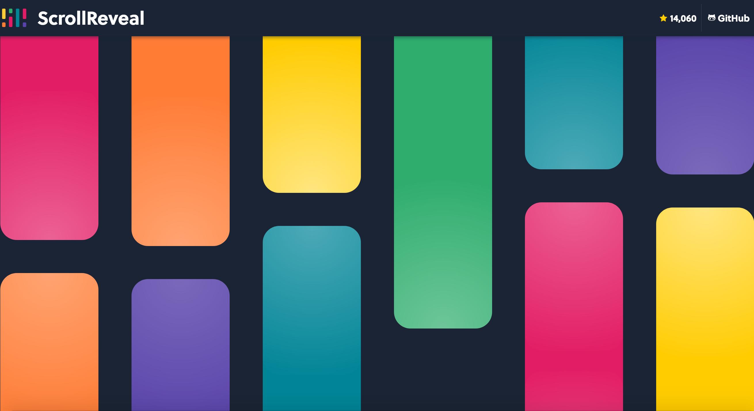 Scroll animation mượt hơn với thư viện Javascript ScrollReveal