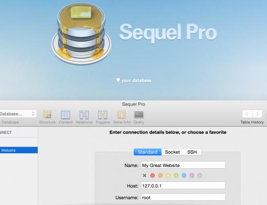 Hướng dẫn sử dụng Sequel Pro để import và export database lớn