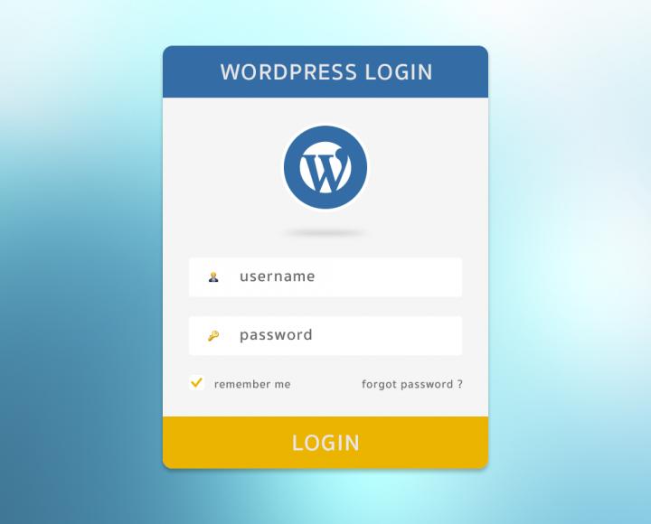 Tuỳ biến form đăng nhập WordPress