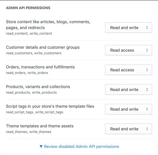 Quyền truy cập của App