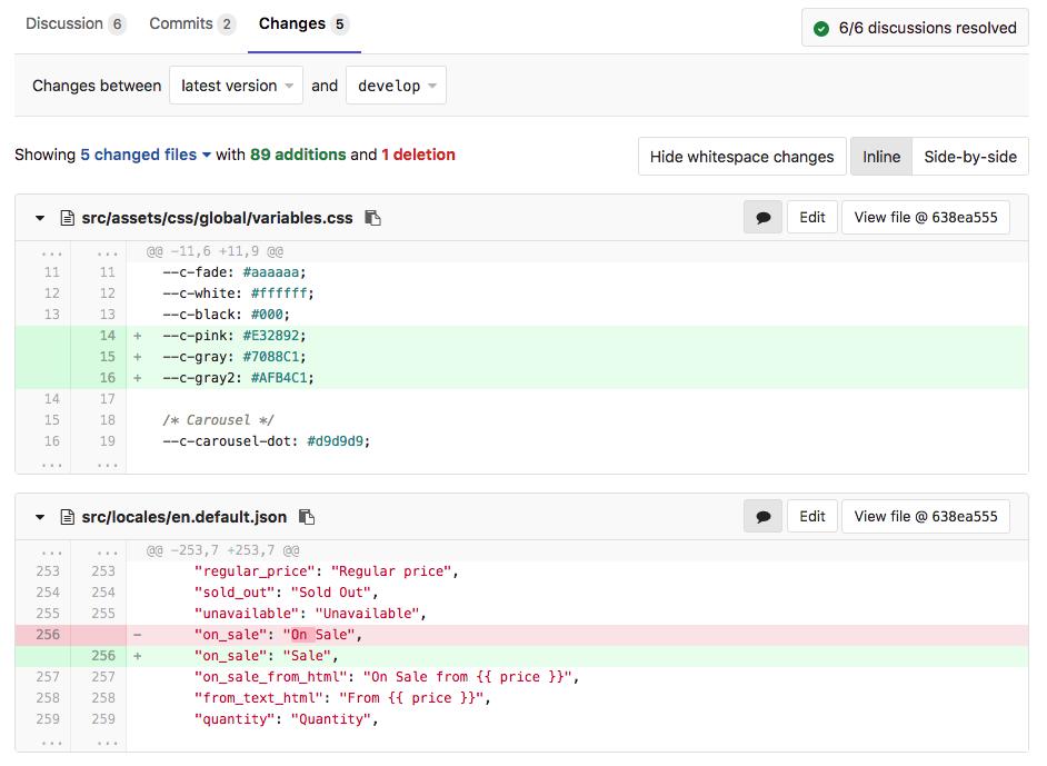 Xem xét thay đổi trong code Merge Request trên GitLab