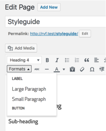 Thêm custom style trong TinyMCE WordPress