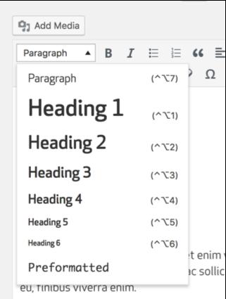 Load font trong Default Format TinyMCE WordPress