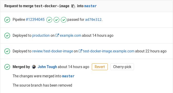 Ví dụ về code deploy automation trong GitLab CI