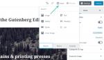 Giới thiệu toàn tập về Gutenberg – trình soạn thảo mới của WordPress