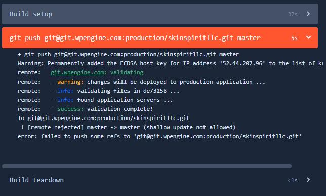 Lỗi Git trong Terminal